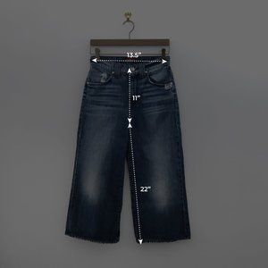 7 For All Mankind Jeans - 7 FOR ALL MANKIND High Rise Culotte Jeans Size 26
